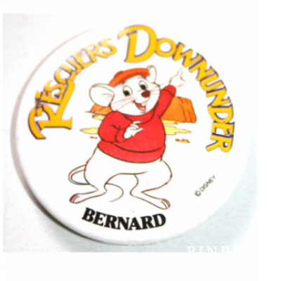 Magnets from Disney pins Rescuers Down Under Disney set of 4