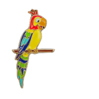 Kingdom of Cute Mystery Collection 2 Barker Bird Disney Pin 130534