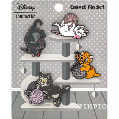 Oliver /& Company Dodger Tito Georgette Pins Disney Loungefly Trading Pin Set