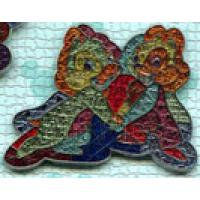 LE 500 Disney Pin 80129 Mickey Mouse WDW Mosaic Mystery Set