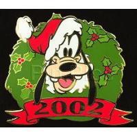 DISNEY PIN 2006 Cast Exclusive Holiday Wreath Hotel Collection Goofy